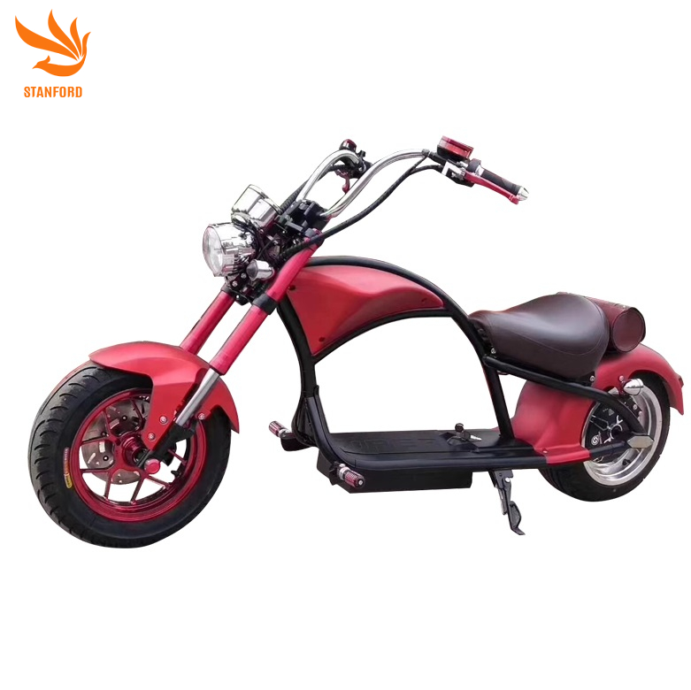 2020 Electric Motorcycle 2 Wheel Citycoco Scooter For Adults