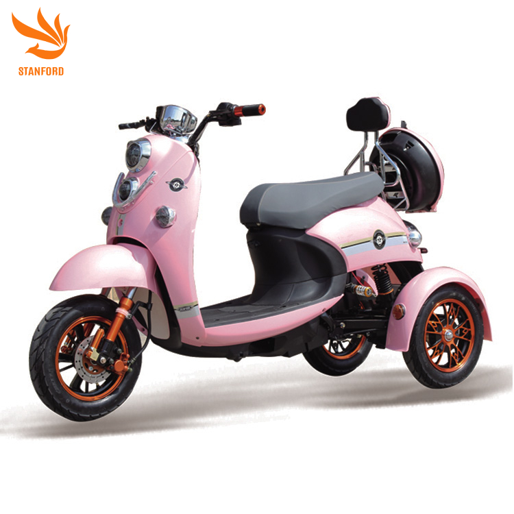 Stanford XG 2020 New 1000w Power Adult 3 Wheel Electric Tricycle