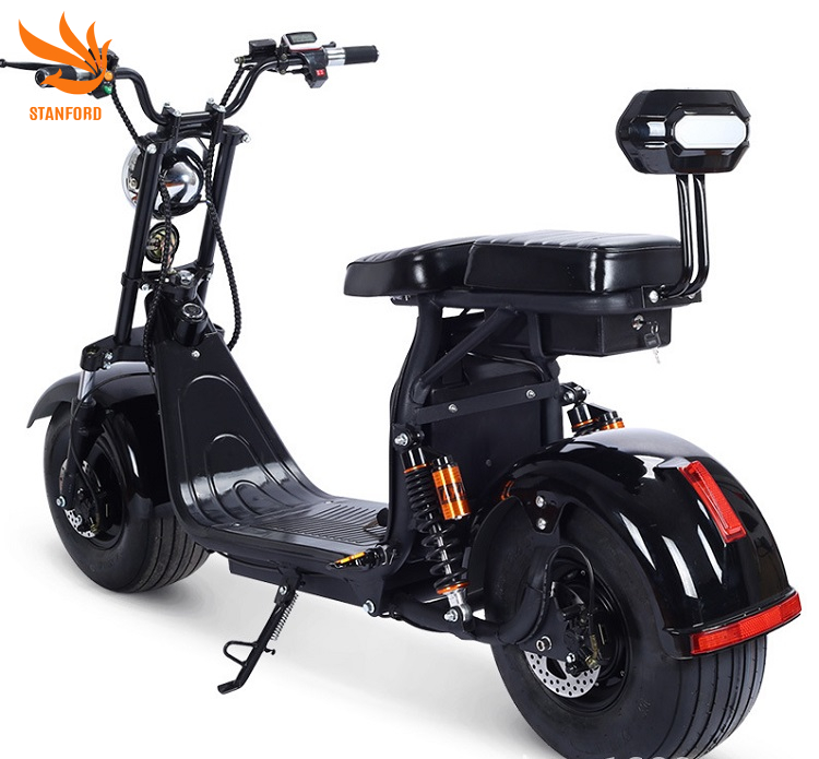 2020 China Mobility Moto Electric 1000W New Cheap E Adults Citycoco Scooter